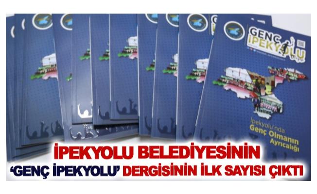 İpekyolu Belediyesinin 'Genç İpekyolu' dergisinin ilk sayısı çıktı