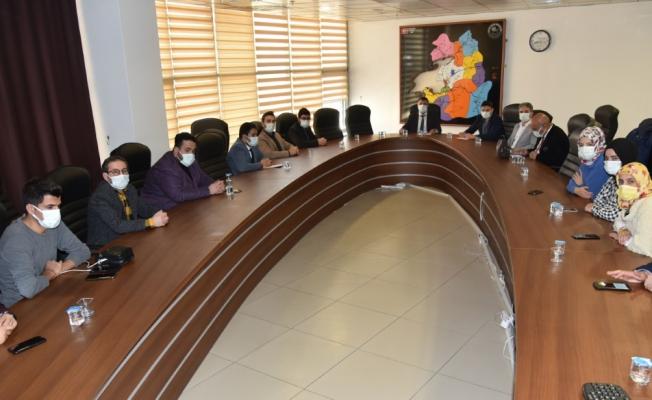 Sağlık Müdürlüğünden Kovid-19 Değerlendirme Toplantısı