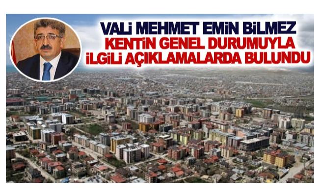 Vali Mehmet Emin Bilmez: 'Van için kenetlenmemiz lazım'
