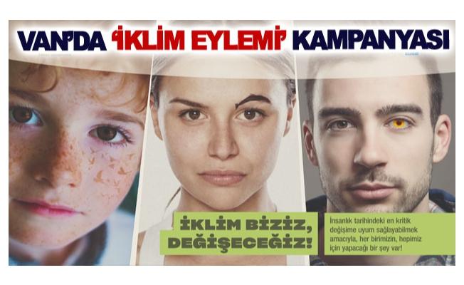 Van'da 'iklim eylemi' kampanyası