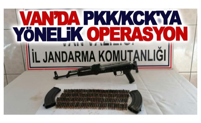 Van'da PKK/KCK'ya yönelik operasyon