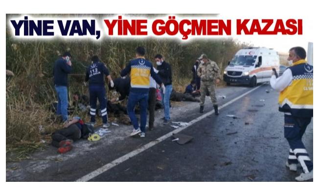 Yine Van, Yine Göçmen Kazası