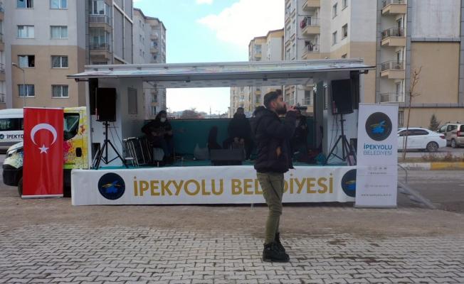 İpekyolu Belediyesinden sokak konserleri