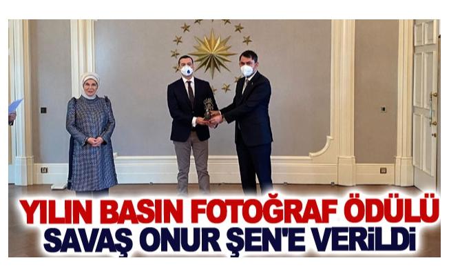 Yılın Basın Fotoğraf Ödülü Savaş Onur Şen'e verildi