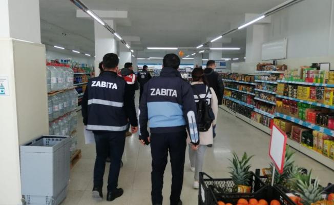 Tuşba Belediyesi zabıta ekiplerinden işletmelere sıkı denetim
