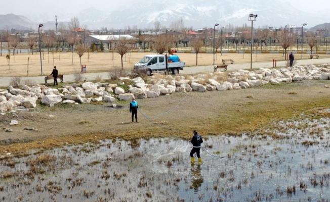 Van Büyükşehir Belediyesinden vektörle mücadele