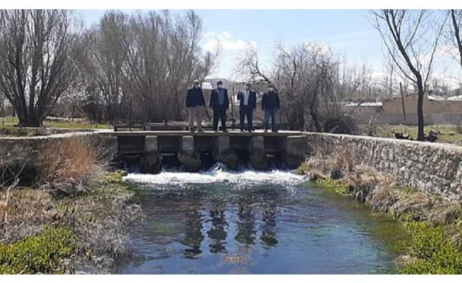Edremit'teki su kanalları incelendi