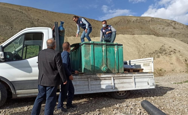 Alabalık tesislerine 2 milyon 400 bin balık aktarıldı