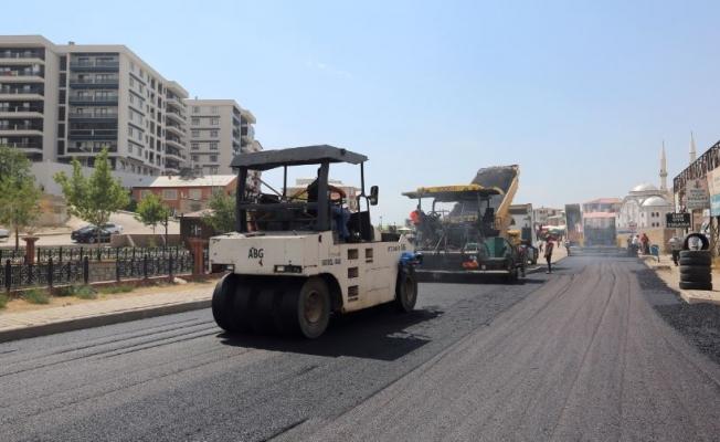 Hıdırellez Caddesi Van BŞB tarafından asfaltlanıyor