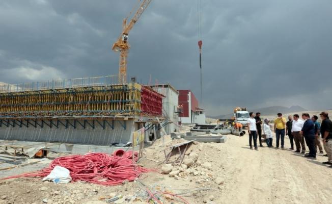 Katı Atık tesisinin 2. etabında çalışmalar sürüyor