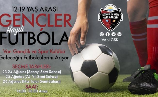 Büyükşehir belediyesi futbolcu seçmeleri yapacak
