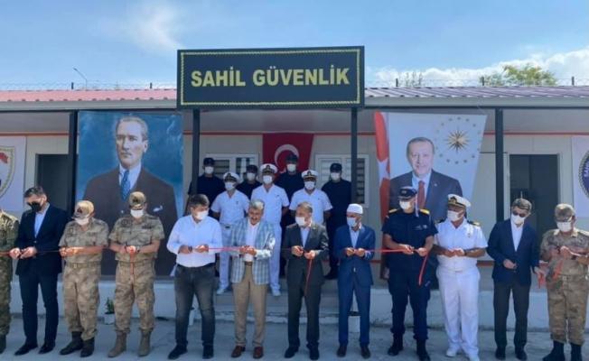 Van Sahil Güvenlik Birimi'nin açılışı yapıldı