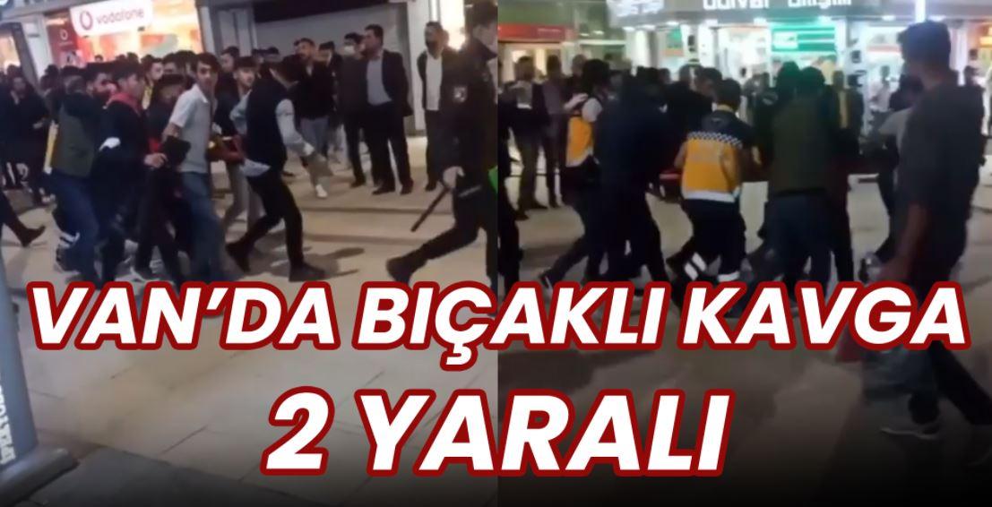 Sanat Sokağı'nda bıçaklı kavga: 2 yaralı