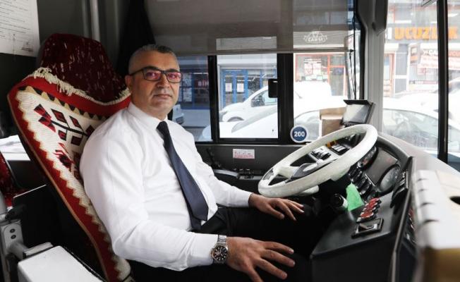 Van'da otobüs şoförünün çabası hayat kurtardı