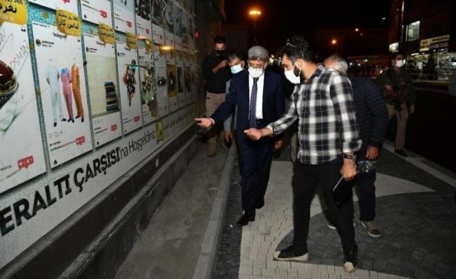 Van Valisi Bilmez'den Sıhke Caddesi'nde inceleme