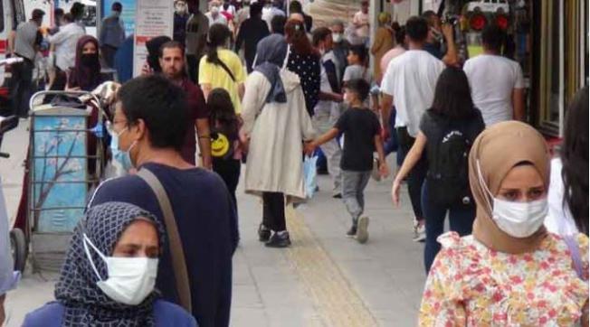 Van Türkiye'de korona virüsün en düşük olduğu il