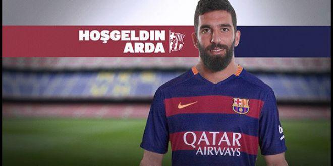 Arda Turan dünya devi Barcelona'da