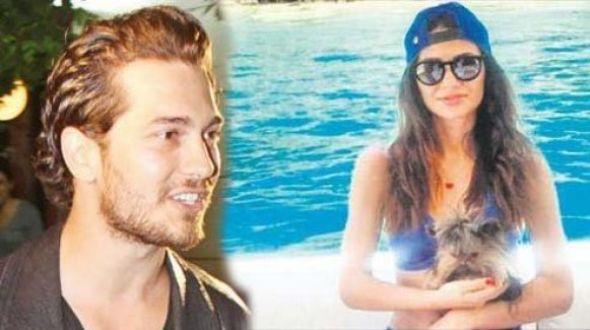 Bomba iddia!Çağatay Ulusoy , güzel voleybolcu Özge Ertöz ile aşk mı yaşıyor