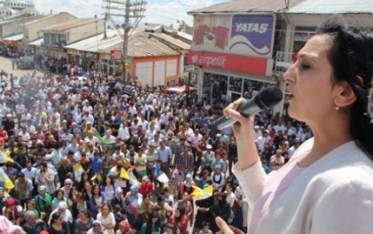 CANLI Samsun HDP mitingini kensintisiz internetten izle!Yüksekdağ Samsun'da