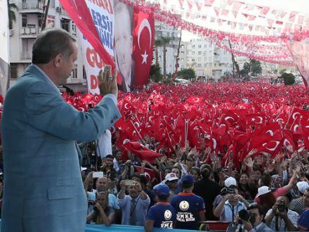 Cumhurbaşkanı  Erdoğan Gölbaşı'nda halka sesleniyor webden canlı izle!