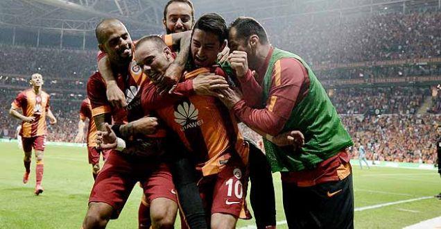 Galatasaray 1-0 Gençlerbirliği maçının özeti!Arena'da Sneijder