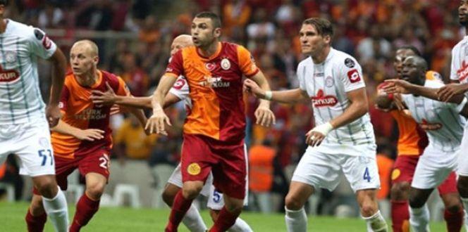 Galatasaray Çaykur Rizespor maçı ne zaman saat kaçta!GS zorlu Rize virajında