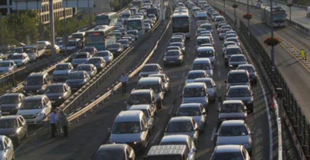 İstanbul yol durumu trafik yoğunluğu nerelerde!ibb.gov.tr