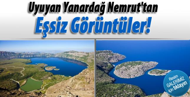 Harika Van Gölü. Türkiye