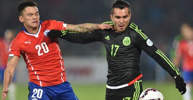 Şili 3-3 Meksika Copa America maçının özeti golleri!