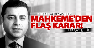 Selahattin Demirtaş beraat etti!