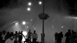 HDP mitingi sonrası çıkan olayların görüntüleri
