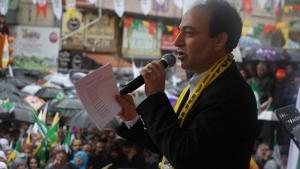HDP'den Van'da hayır mitingi