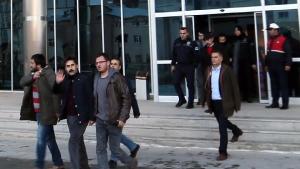 Van Büyükşehir Belediye başkanı gözaltına alınma anı