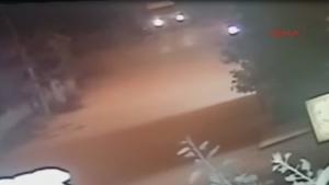 Van'da bombalı aracın patlama anı MOBESE kamerasında