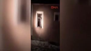 Van'da dün gece yaşanan çatışmanın görüntüleri