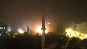 Van'da İki Nisan Polis Karakoluna Bombalı Saldırı VİDEO