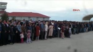 Van'daki 2 şehit memleketlerine uğurlandı